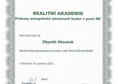 Průkazy energetické náročnosti budov v praxi RK