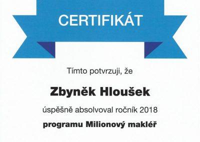Milionový makléř 2018
