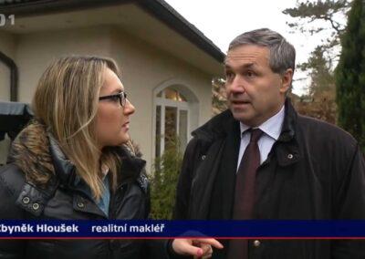 Nejlepší realitní makléř v Praze v České televizy Zbyněk Hloušek