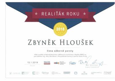 Nejlepší realitní makléř v Praze 4 - Realiťák roku 2018