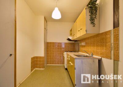 Kuchyňský kout - byt 3+kk/L, ul. Křejpského, Praha 4 - Chodov
