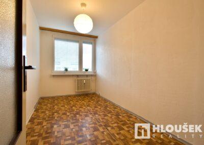 Menší ložnice - byt 3+kk/L, ul. Křejpského, Praha 4 - Chodov