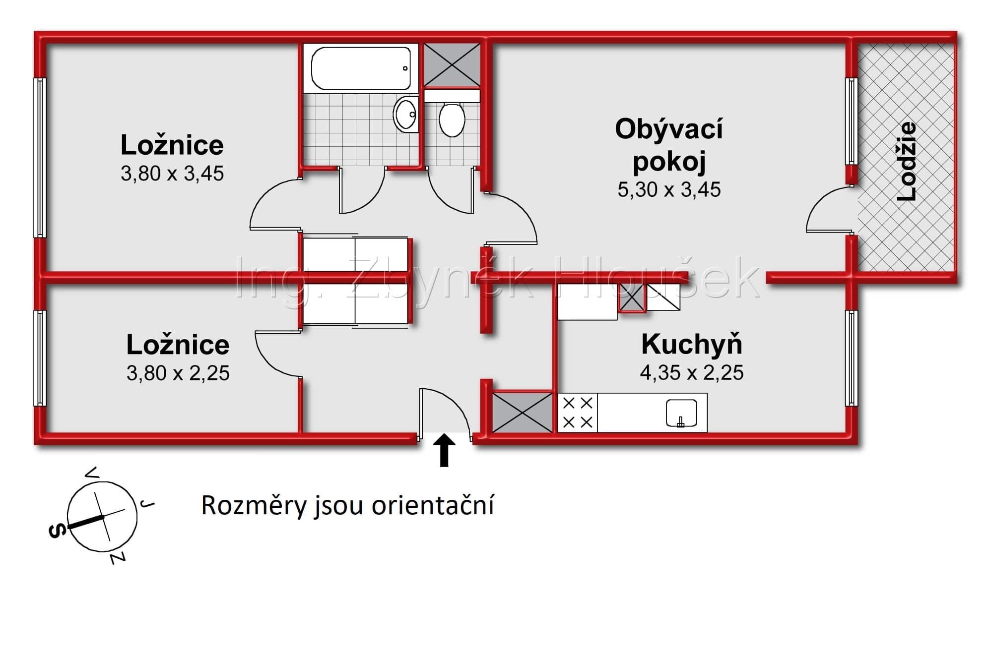 Prodej bytu Praha 4 - Háje